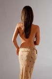 Back of Graceful Woman Stock Photography