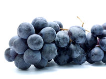 Back grape. Isolated on white Royalty Free Stock Images