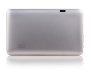 Back Grey Metallic Digital Tablet Stock Photos