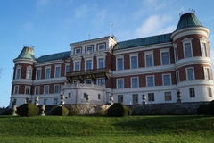 Back of Häckeberga Castle, Sweden Royalty Free Stock Image