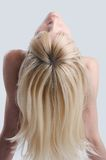 Back hair Royalty Free Stock Photo