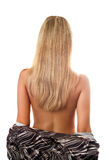 Back and hair of a blonde Royalty Free Stock Photo