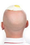 Back of head Royalty Free Stock Images