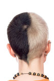 Back of the head Royalty Free Stock Images