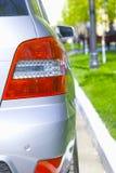 Back headlight of car Stock Photo