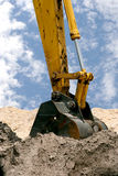 Back Hoe Royalty Free Stock Photo