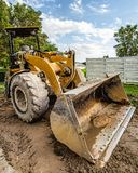 Back hoe Royalty Free Stock Photos
