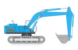 Back_hoe Stock Photography