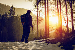 back home at sunset - outdoor activity Stock Photography