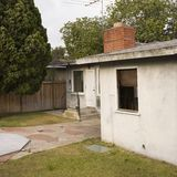 Back of house. Royalty Free Stock Photos
