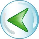 Back icon or symbol Stock Photos