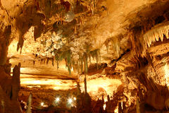Back Into Inner Cathedral. InnerSpace Cavern room named Inner Cathedral Royalty Free Stock Photo