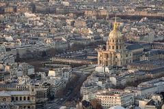 The Back of the 'Invalides' Royalty Free Stock Images
