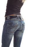 Back in jeans Royalty Free Stock Images