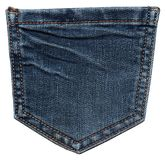 Back jeans pocket Royalty Free Stock Image