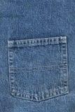 Back jeans pocket stock photography