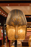Back of King Tut's Death Mask Royalty Free Stock Photos