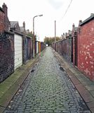 Back Lane Royalty Free Stock Photo