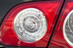 Back lanterns of the car Stock Photography