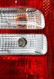 Back lanterns car Stock Images