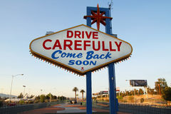 Back of Las Vegas sign Royalty Free Stock Photography
