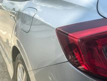 Back light of the car. In thailand Royalty Free Stock Photography