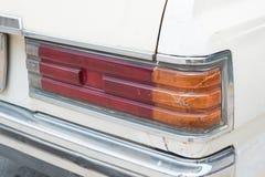 Back light of vintage car. Royalty Free Stock Photos
