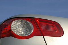Back lights. Close up photo of a Volkswagen EOS back light Royalty Free Stock Image