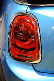 Back lights of a car Royalty Free Stock Photo