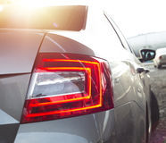 Back lights of a car Royalty Free Stock Image