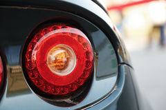Back lights of car Royalty Free Stock Photos