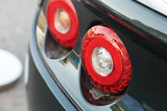 Back lights of car Royalty Free Stock Images