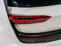 Back Lights Of Sports Car. Back Lights Of Luxurious Sports Car Royalty Free Stock Photography