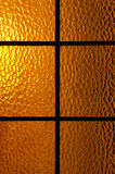 Back lit glass door Royalty Free Stock Photos