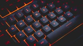 Back-Lit Gokkentoetsenbord stock afbeelding