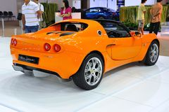 Back of LOTUS Elise Royalty Free Stock Image
