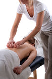 Back massage Royalty Free Stock Photo