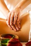 Back Massage Stock Photo