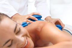 Back massage bubble Chinese. Royalty Free Stock Image
