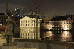 Back of mauritshuis at the hofvijver Stock Photography