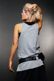 Back of model in casual clothes Stock Photography