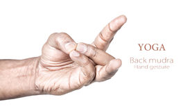 Back mudra Stock Photos