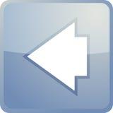 Back navigation icon Stock Image