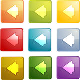 Back navigation icon Royalty Free Stock Image