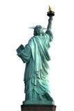 Back of NY Statue of Liberty Royalty Free Stock Photo