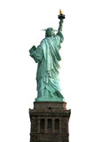 Back of NY Statue of Liberty Stock Photography