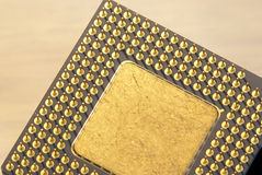 Free Back Of A Microprocessor Stock Images - 21661604