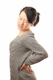 Back pain Royalty Free Stock Images