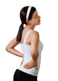 Back Pain Backache Hernia Royalty Free Stock Images
