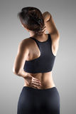 Back pain Stock Image